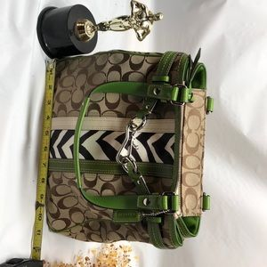 COACH TOTE  w/ MATCHING WALLET